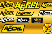 ACCEL logo assortment