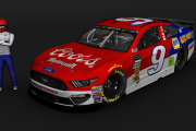Custom #9 Coors / Napa Auto Parts Ford Mustang (MENCS19 Mod)