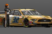 MENCS19 Corey LaJoie The Hartford Gold Group Car Auto Club Speedway