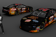 2019 Chris Buescher Thrill of the Grill