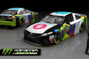 MENCS 2018 Fictional Zaxby's #91 Camry