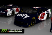 Custom Jimmie Johnson 2019 Throwback