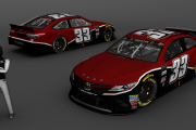 2019 MENCS fictional- 33 Reed Sorenson