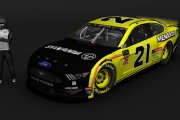 2019 MENCS1 - Paul Menard - 21 - Bristol