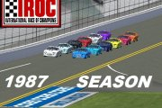 1987 International Race of Champions Carset (IROC Z-28 mod)