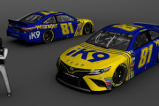 2019 MENCS Fictional- 81 Jeffrey Earnhardt fictional throwback