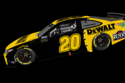 #20 Eric Jones Fictional Throwback (Matt Kenseth 2002 DeWalt)