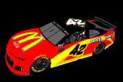 #42 Kyle Larson Fictional Throwback ( Bill Elliott 1999 McDonalds)