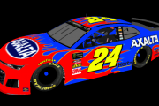 William Byron Fictional Throwback (Jeff Gordon 2001 DuPont)