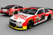 Regan Smith #36 Golden Corral Fictional 2015 Paint Scheme
