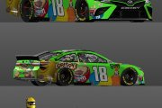 WEDS 2015 Kyle Bush Championship M and M's Camry