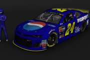 MENCS19 Retro #24 Jeff Gordon Dupont Pepsi Chevrolet