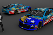 (Fictional) Chris Buescher Planters Patriotic