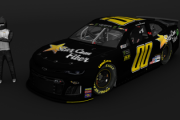 2019 Landon Cassill StarCom Fiber Black (Kentucky)