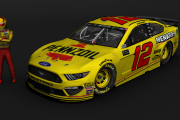 Ryan Blaney Pennzoil Darlington Mustang