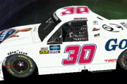 Brennan Poole #30 Goettl Air Conditioning Truck