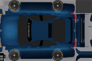 Ford Fusion Pace Car Template