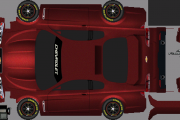 Chevy SS Pace Car Template