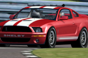 Red GT500 Shelby Mustang Pace Car