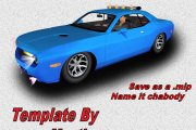 2006_Challenger PaceCar Templates