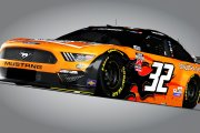 2020 Corey Lajoie #32 Schulter Systems Mustang