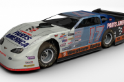 #17 Fictional Darrell Waltrip Dirt Late Model