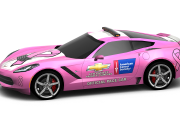DMR C7 Corvette Breast Cancer Awareness Pace Car