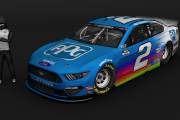 Brad Keselowski PPG Paints Ford Mustang