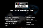 2020 NASCAR Cup Series Mainback for MENCS19