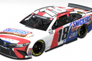 2020 Kyle Busch Snickers White Camry