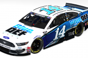 2020 Clint Bowyer BlueDef Mustang