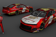 2020 Dale Earnhardt Jr. Budweiser Fictional iRacing Camaro (NR2003)