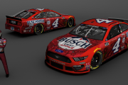 4 Kevin Harvick Busch Light Apple 2020