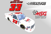 Gray Gaulding #33 Motorsports Safety Group Homestead