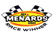 Arca Menards Series Race Winner Sticker Logo (Non Year Specific)