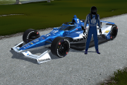 #3 Dale Earnhardt, Jr. 2020 IndyCar iRacing Challenge @ Michigan