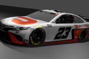 2021 Bubba Wallace #23 DoorDash Inverted Toyota Camry