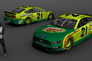 2021 Matt DiBenedetto's Libman Ford