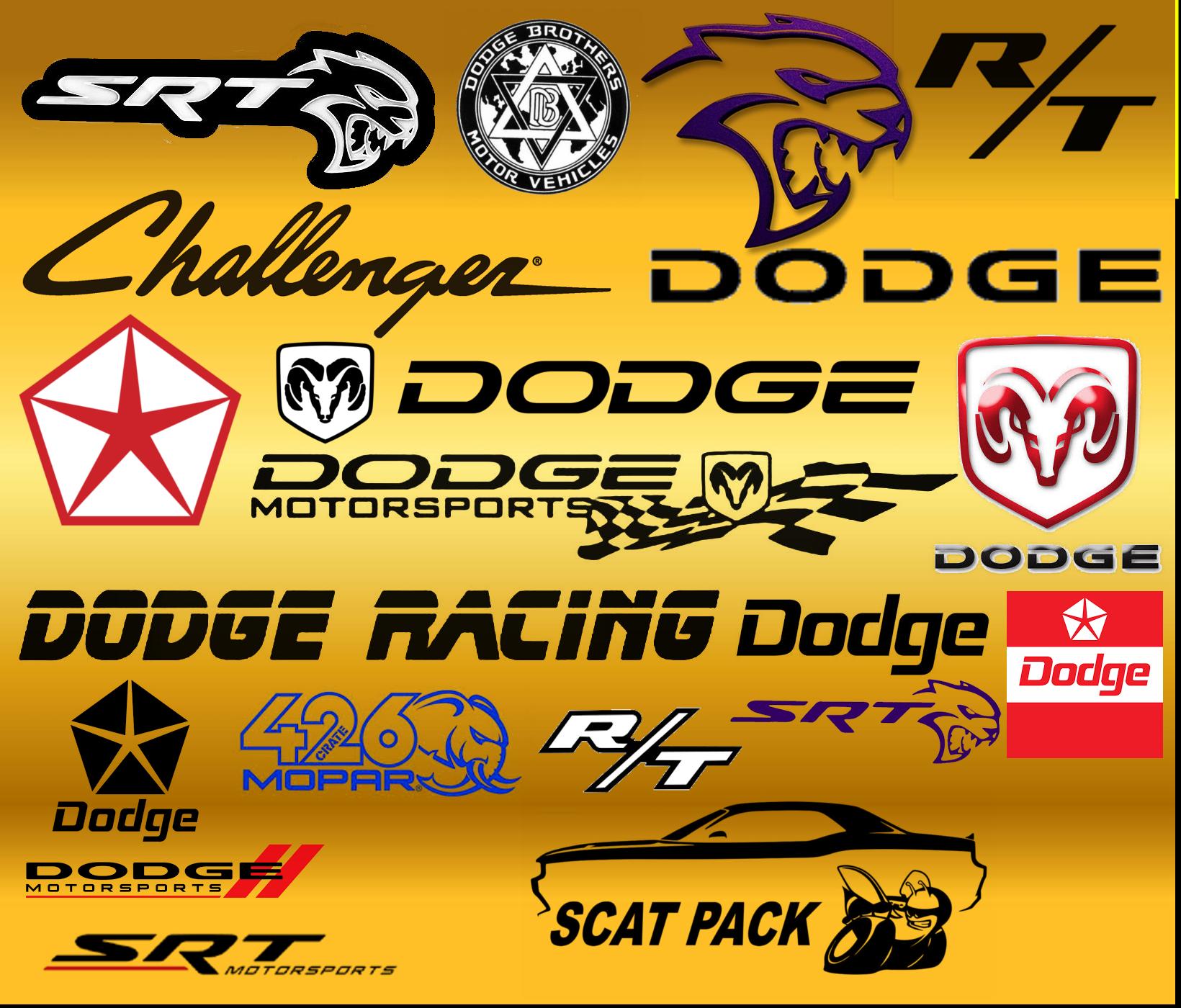 Dodge Challenger logos.png