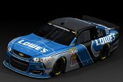 Jimmie Johnson Lowe's Concept Design 2015