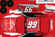 Fictional No. 99 Ryan Reed Lilly Diabetes Ford