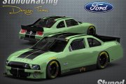 Ford Mustang Shelby Cobra GT500KR 2005 BR10 Template