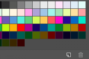 NT03 Create-A-Car Color Swatches for Photoshop
