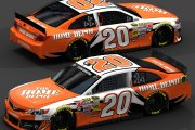 Joey Logano No. 20 The Home Depot 2009