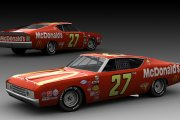 #27 Hut Stricklin Ford Torino