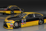 Jeb Burton 2015 Throwback Base