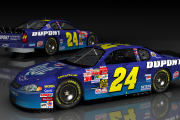 #24 Pepsi Blue Jeff Gordon 2002 Fictional