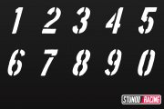 Boston Number Set 0-9
