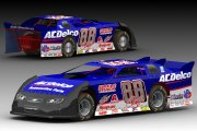 Dale Earnhardt Jr AC Delco Dirt Late Model