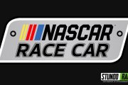 NASCAR Race Car 2017 Logo